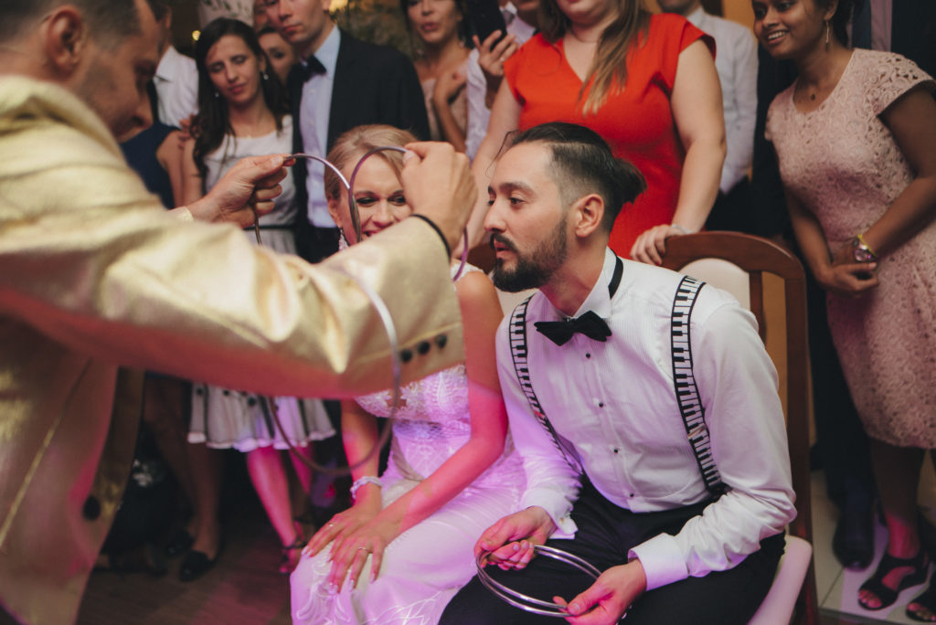 pokaz na weselu